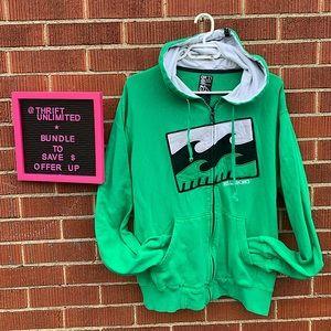 BILLABONG zip up hoodie sweater